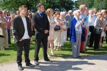 Opening ceremony at Art Centre Salmela, Mäntyharju