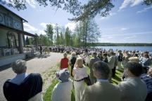 Opening ceremony at Art Centre Salmela, Mäntyharju (Picture: Taidekeskus Salmela)