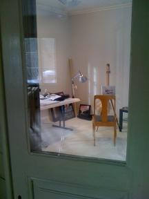 My ateljee in Salmela winter residence