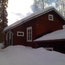 I had a perfect get away place to focus my creative work in Salmela's winter residence