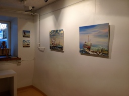 Exhibiton was held during the Helsinki Festival weeks and the night of the arts.