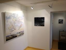 Private exhibition at Gallery Art Frida, Korkeavuorenkatu Helsinki. Autumn 2013.