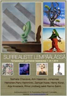 Poster of the exhibition in Lempäälä in 2010